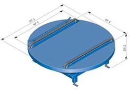 Стол поворотный для конвейера ленточные конвейеры их устройство